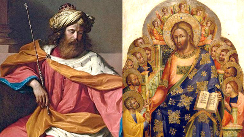 Jésus, monarchie davidique, douze tribus d'Israël