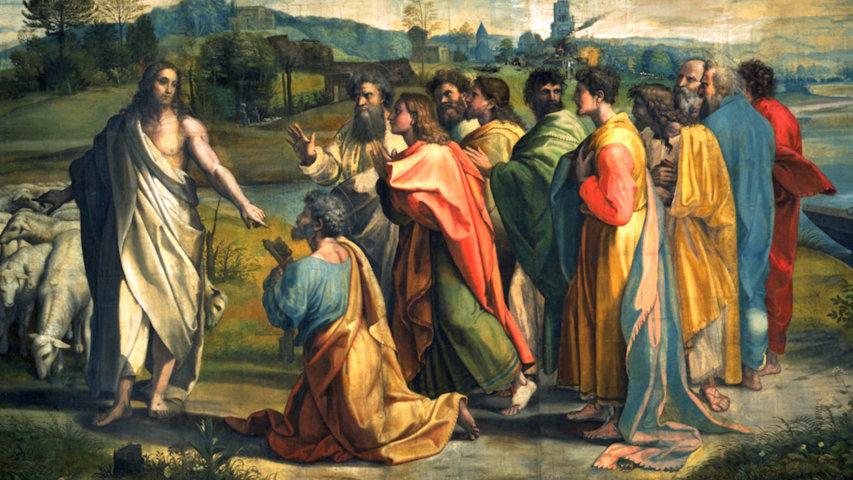 Jésus à Simon Pierre : « nourris mes agneaux »