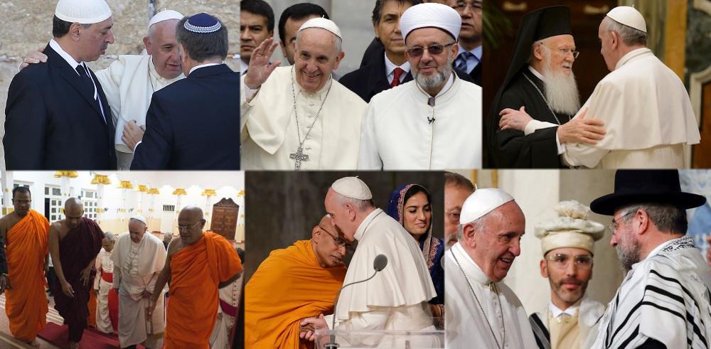 Les partisans de rassemblements interreligieux sont des hérétiques et apostats
