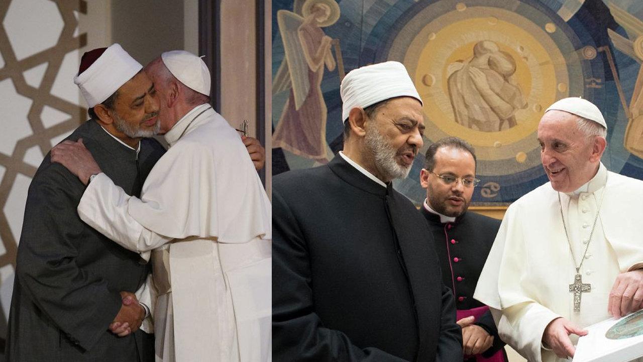 L'antipape François enseigne que les musulmans sont « d'authentiques croyants » et qualifie le leadership musulman de « haute responsabilité »