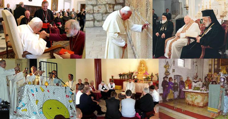 Une personne perturbée par la doctrine antéchrist de Jean-Paul II