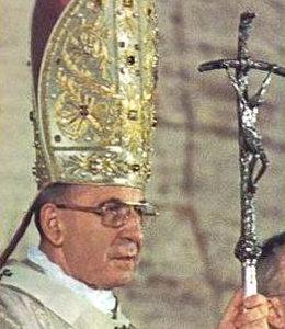 Jean-Paul 1er (Albino Luciani), l'homme qui, en 1978, prétendit pendant 33 jours être pape, entre Paul VI et Jean Paul II.