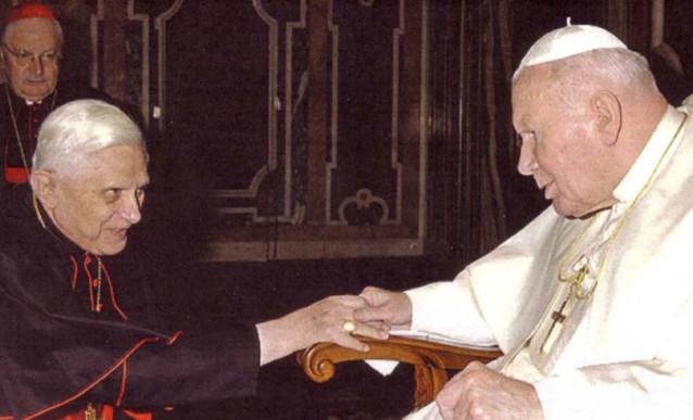 Joseph Ratzinger et l'antipape Jean-Paul II