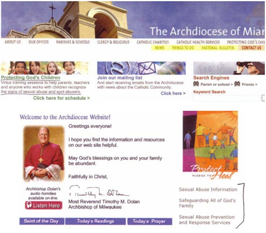 Site du diocese de Pittsburgh