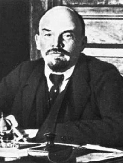 Vladimir Lénine, artisan de la révolution communiste, meurtrier de masse et leader de la Russie communiste, de 1917 à 1924