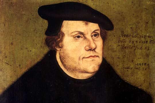 Martin Luther, probablement l'hérétique le plus notoire dans l'histoire de l'Église, enseigna, parmi tant d'autres, l'hérésie de la justification par la foi seule.