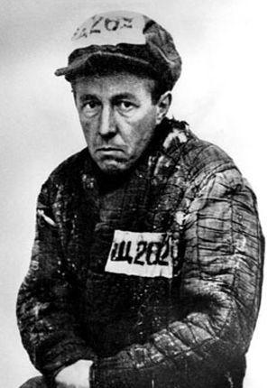 Alexandre Soljenitsyne comme prisonnier de camp, au Goulag