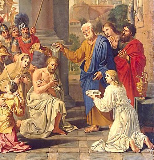 Baptême Centurion Corneille par Pierre