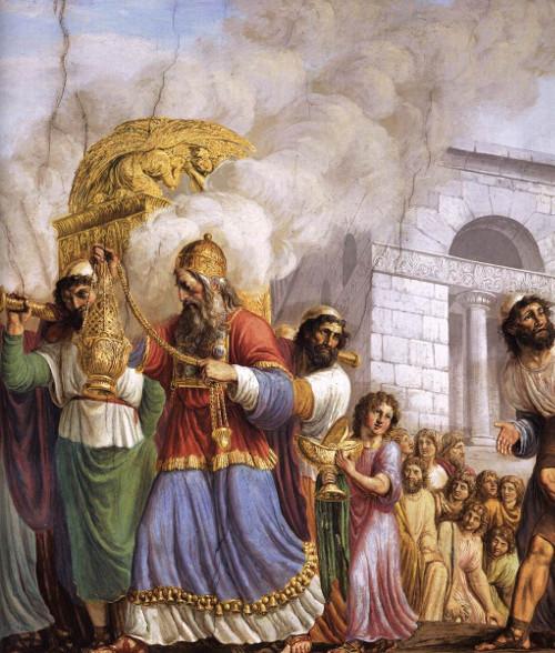Comme l'Arche de l'Ancienne Alliance, Marie a un pouvoir unique d'intercession