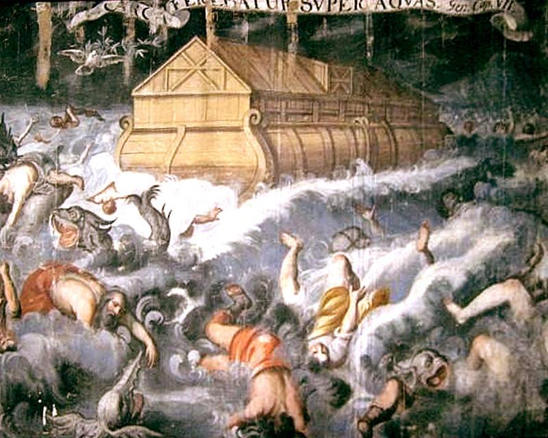 L'Arche de Noé et le Déluge préfiguraient le salut par le Baptême et l'Église