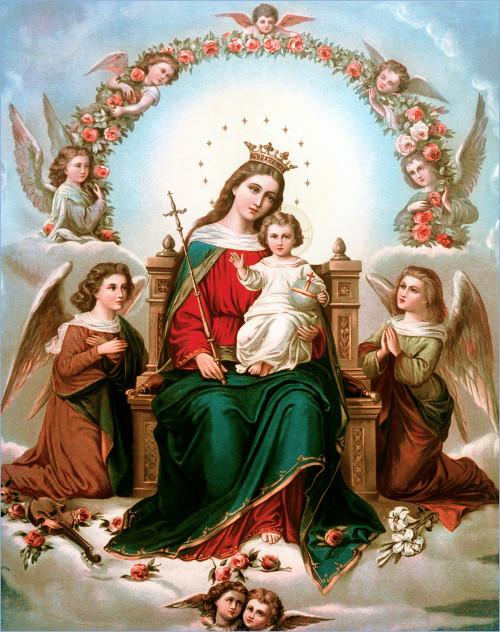 Célèbre La Bible et la Vierge Marie, la mère de Jésus-Christ (Dieu) XU24