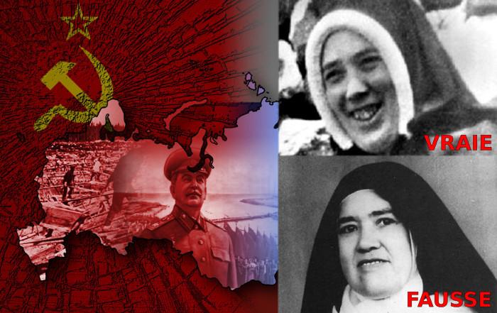 Toute la vérité sur la consécration et la conversion de la Russie et l'imposteur sœur Lucie