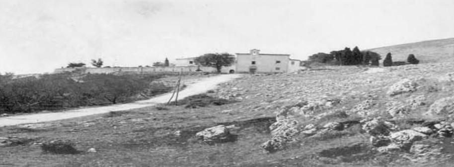 Photo du Couvent de Notre-Dame de la Grâce à peu près lorsque Padre Pio y vint en 1916