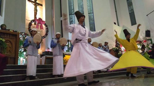 Danse musulmane