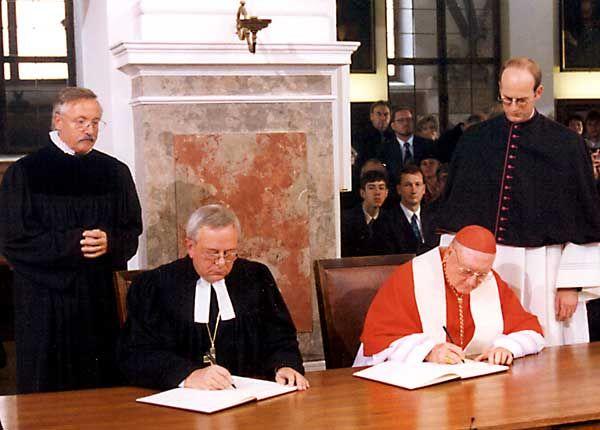 Déclaration commune de 1999 avec les luthériens sur la doctrine de la Justification