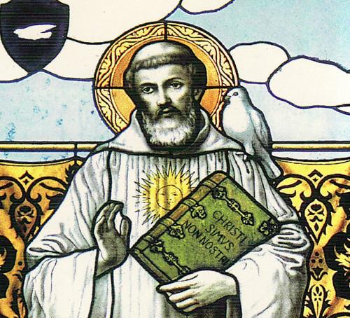 Saint Colomban de Luxeuil, missionnaire irlandais