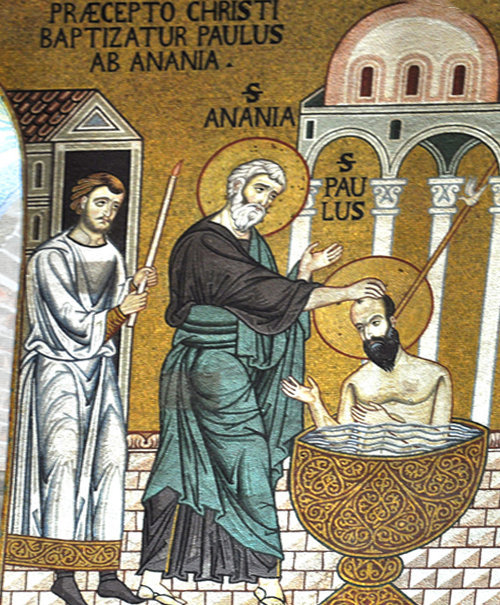 Le Baptême de saint Paul