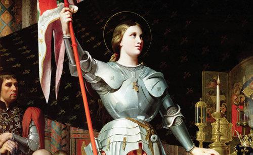 Sainte Jeanne d'Arc a ramené à la vie un petit enfant mort, pour qu'elle puisse le baptiser
