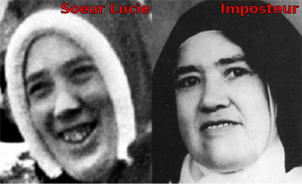 L'imposteur soeur Lucie