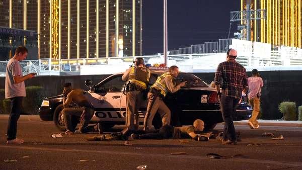 Photo d'un policier à l'événement de Mandalay Bay, Las Vegas, suggère que c'était un canular