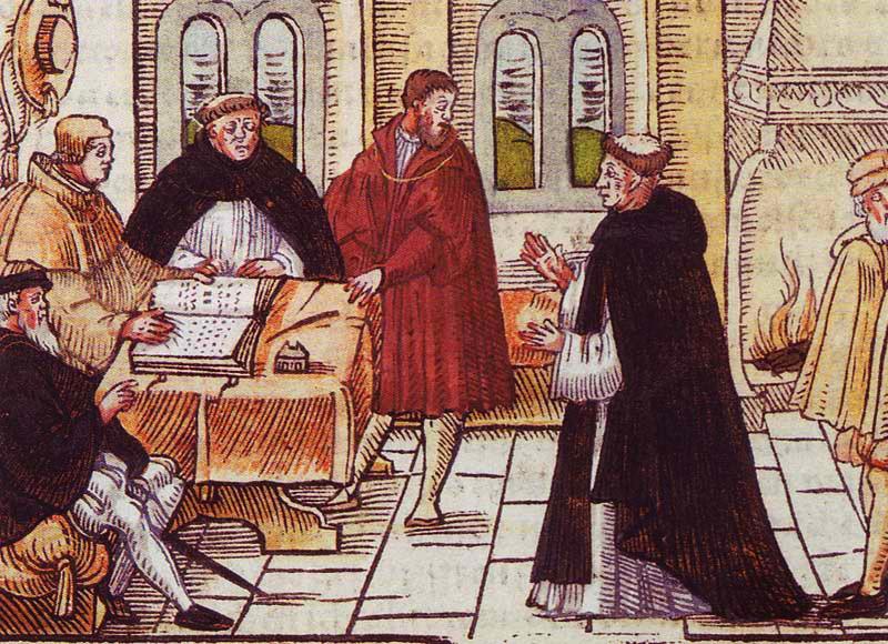 Le cardinal Cajétan a considéré Luther comme un hérétique avant la déclaration d'excommunication