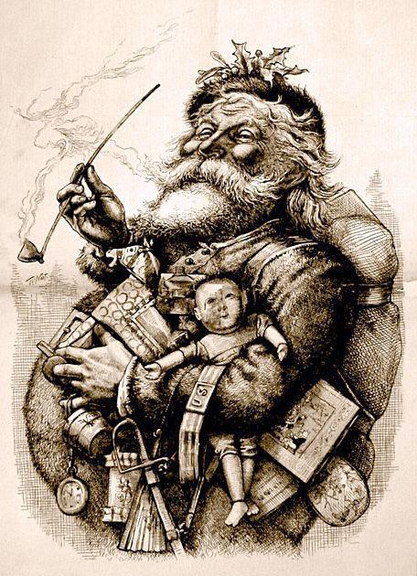 « Père Noël » antechrist contre Noël
