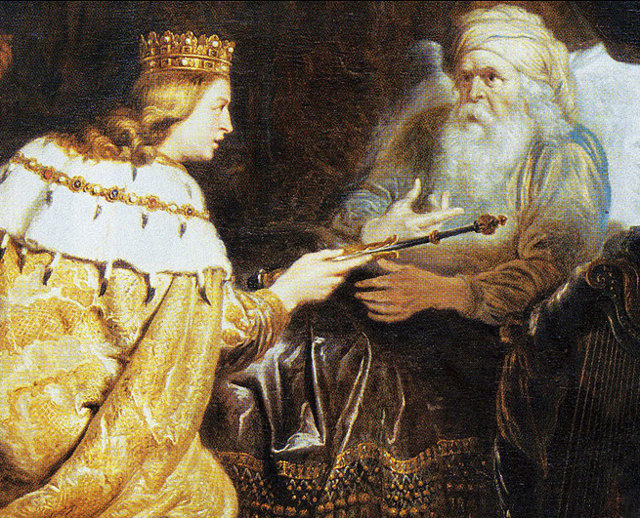 Roi David et son Fils Salomon