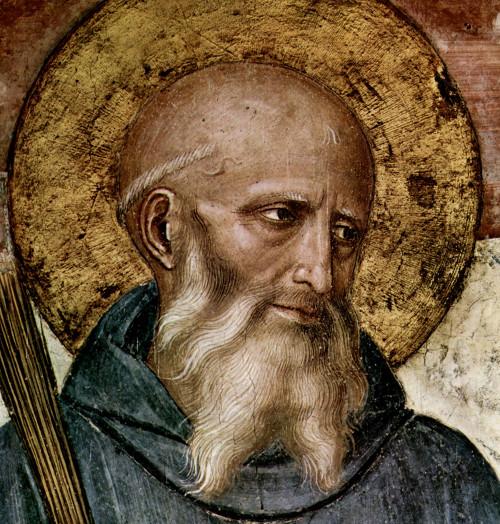 Saint Benoît de Nursie