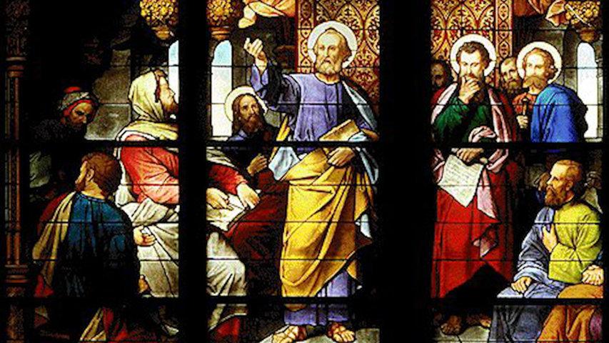 Saint Pierre au Concile de Jérusalem