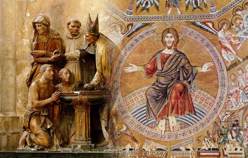 Le Baptême, l'unique porte d'entrée dans l'Église