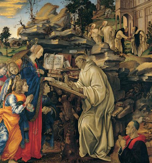Apparition de la Sainte Vierge à saint Bernard