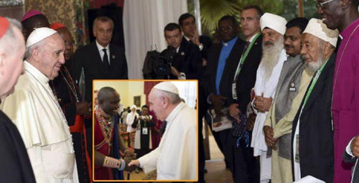 L'antipape François déclare que les efforts visant à convertir mènent « toujours » nulle part