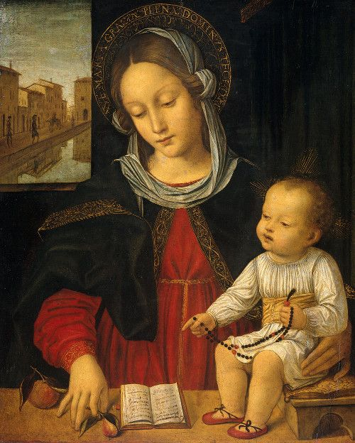 La vierge Marie sur Lowriders